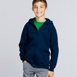 Gildan Youth Zip Hooded Sweatshirt