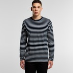 AS Colour Men's Match Long Sleeve Stripe T Shirt