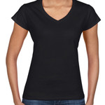 Gildan Ladies' V Neck
